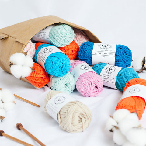 Shop the Cotton One knitting and crochet yarn at Stitch & Story