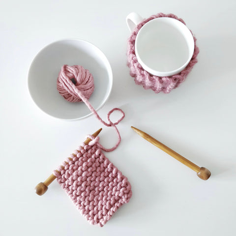 Learn to knit the Cup Cosy
