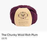 The Chunky Wool Rich Plum