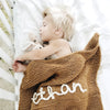 Personalised Baby Blanket Knitting Kit
