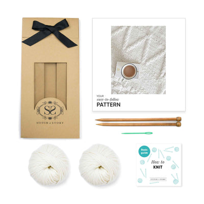 Bounty Throw Knitting Kit