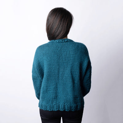 Pia Weekend Sweater Knitting Kit