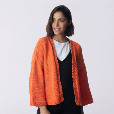 Hana Short Cardigan Knitting Kit