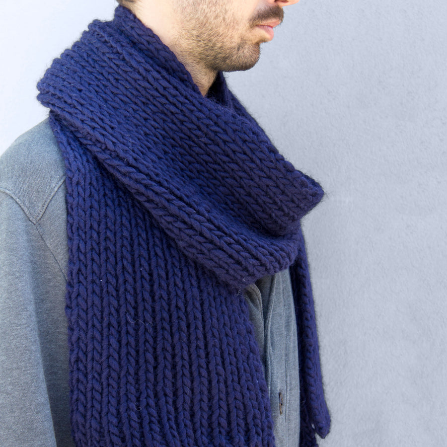 Vale Scarf Knitting Kit
