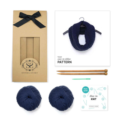 Mateusz Snood Knitting Kit