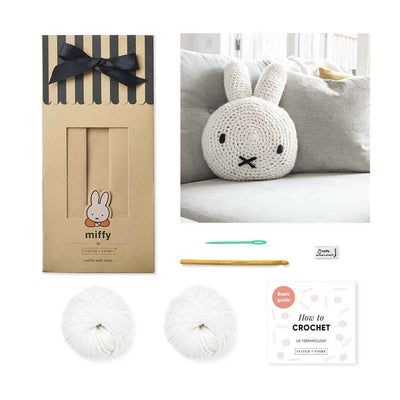 Miffy Cushion Cover Crochet Kit