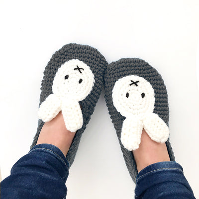 Miffy Slippers Crochet Kit