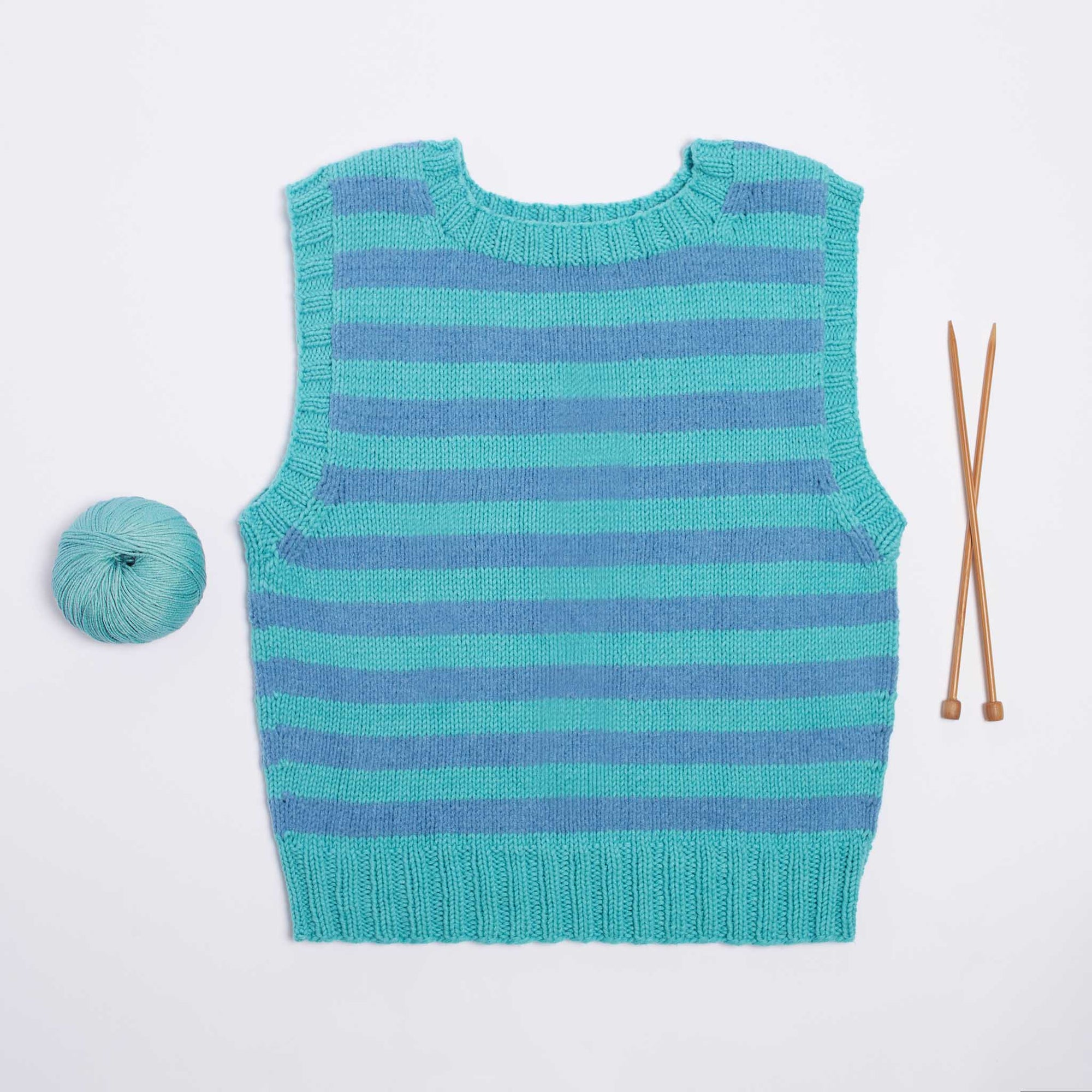 A Taste of Stripes PDF Pattern & Yarn Bundle