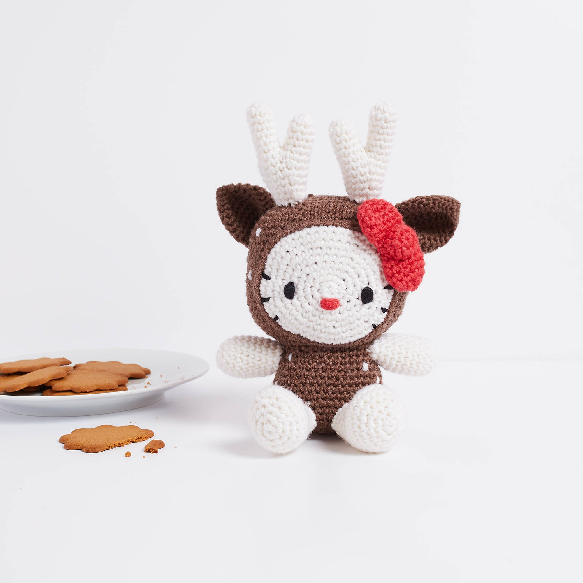 Hello Kitty: Reindeer Amigurumi