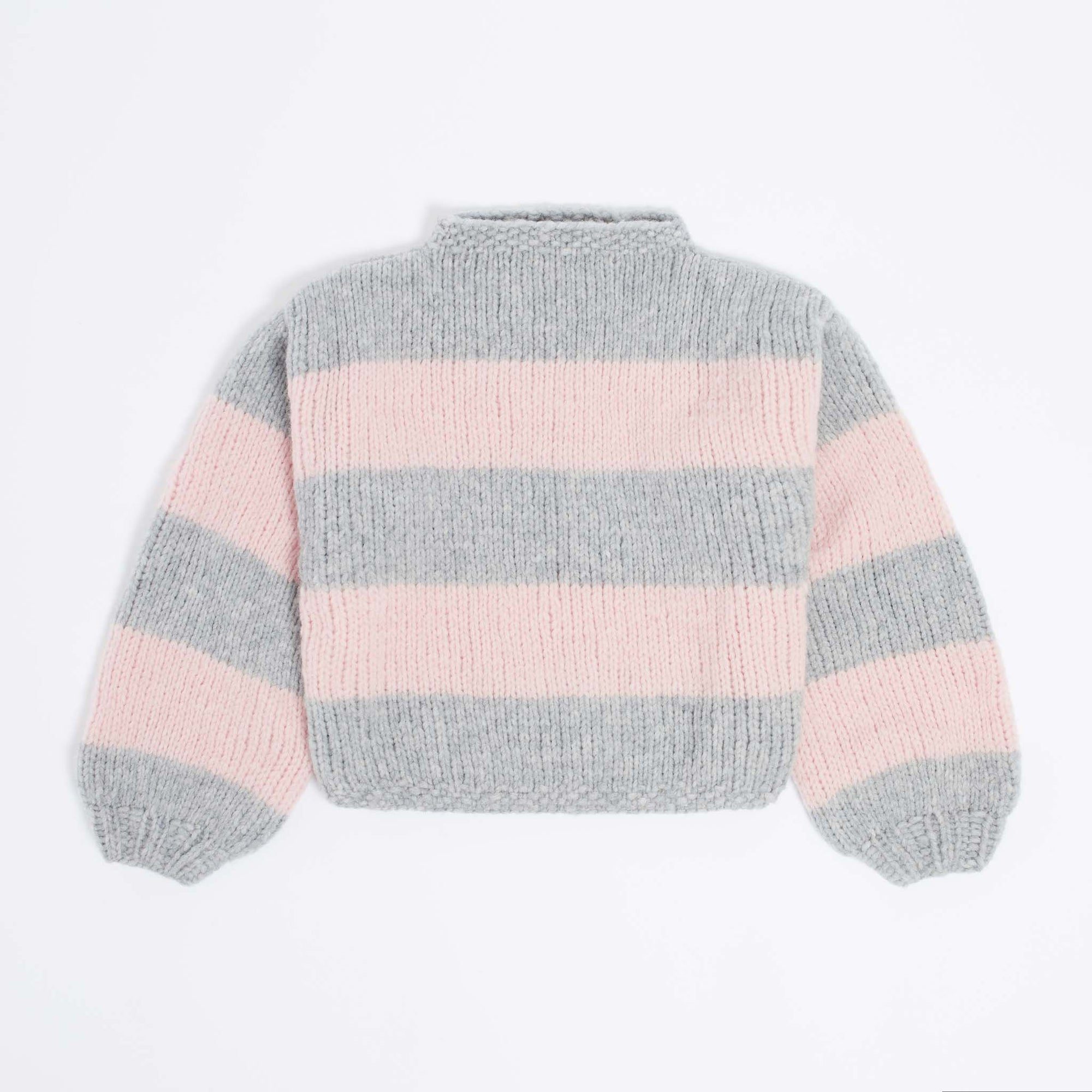 Roma Striped Sweater PDF Pattern & Yarn Bundle