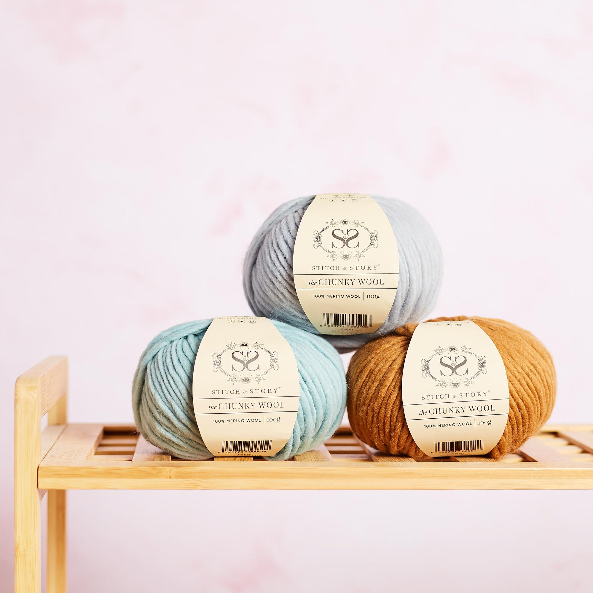 The Chunky Wool 100g balls