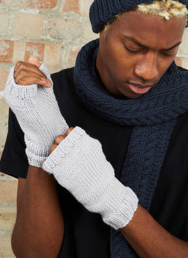Alfie Wristwarmers Knitting Kit