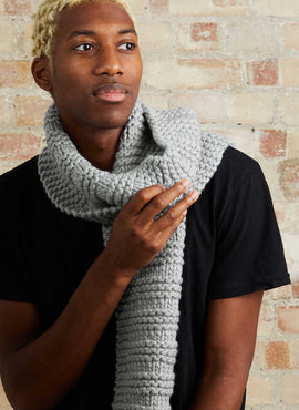 Declan Scarf Knitting Kit