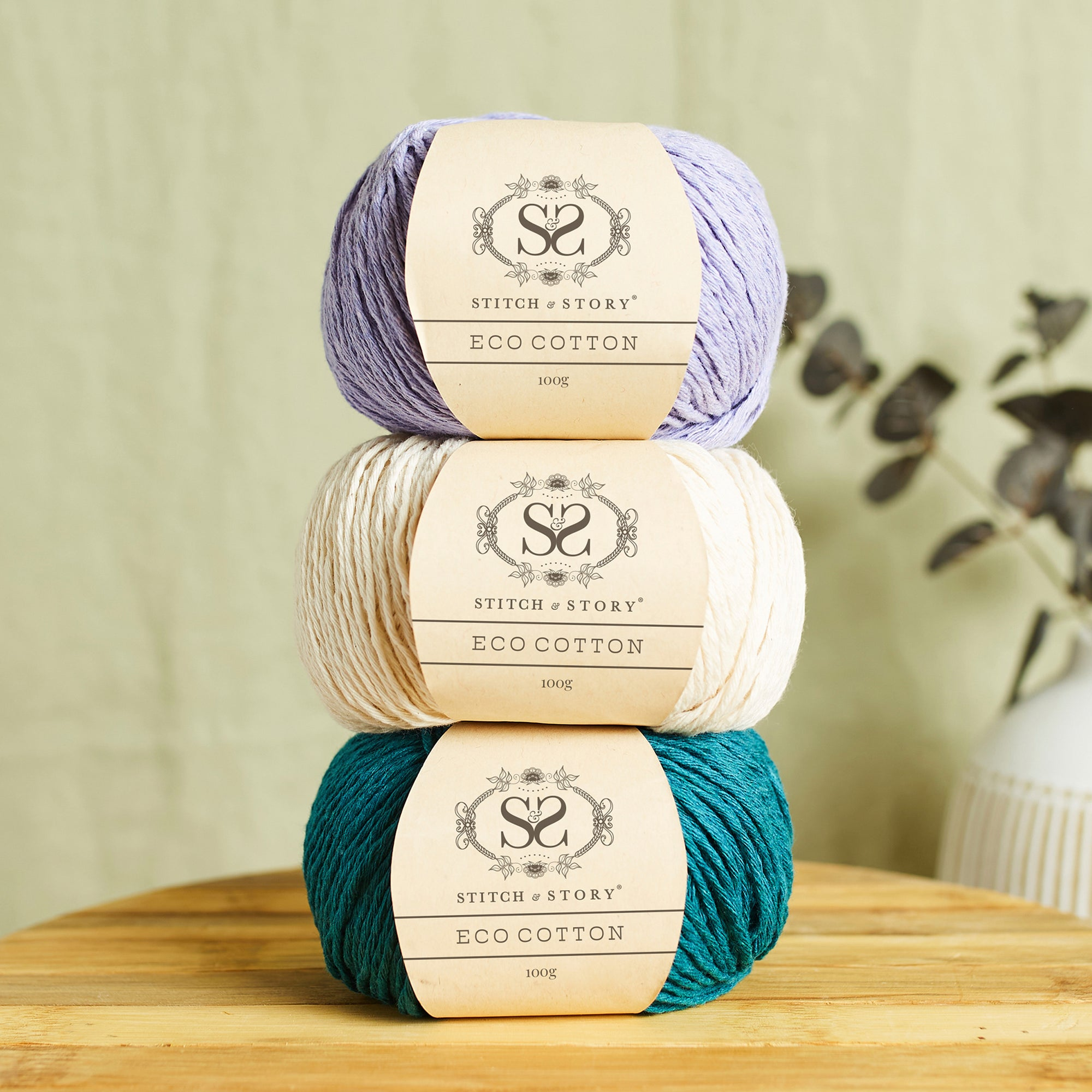 Eco Cotton 100g Balls