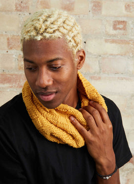 Hunter Cowl Knitting Kit