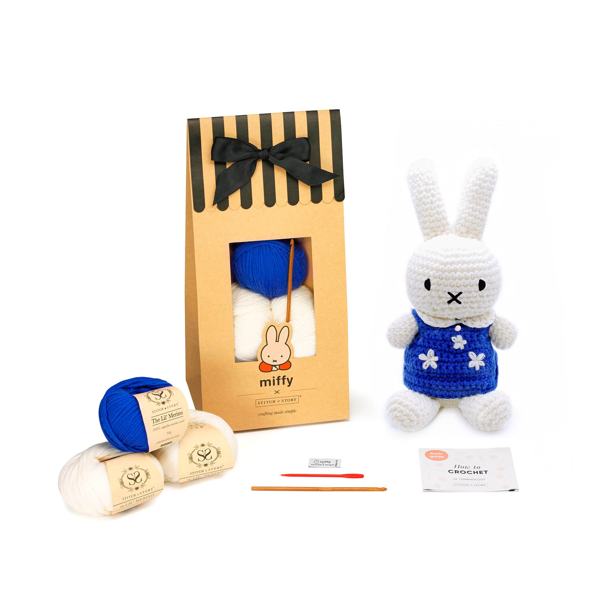 Birthday Miffy Amigurumi Crochet Kit