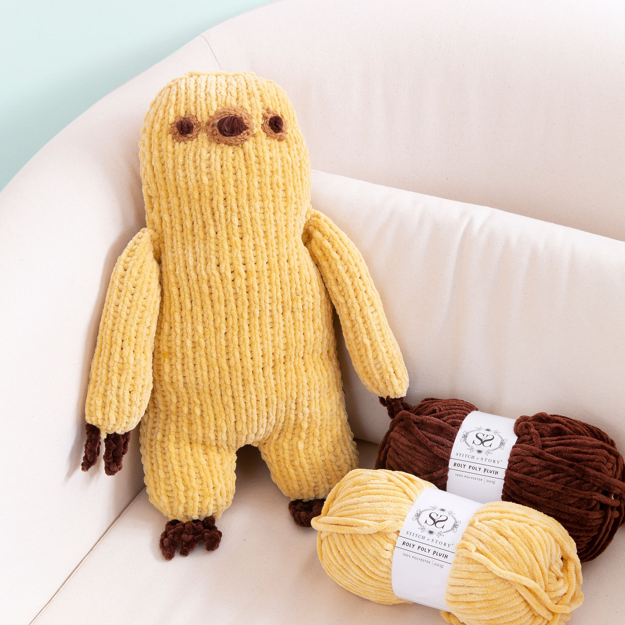 Pusheen: Sloth Knitting Kit