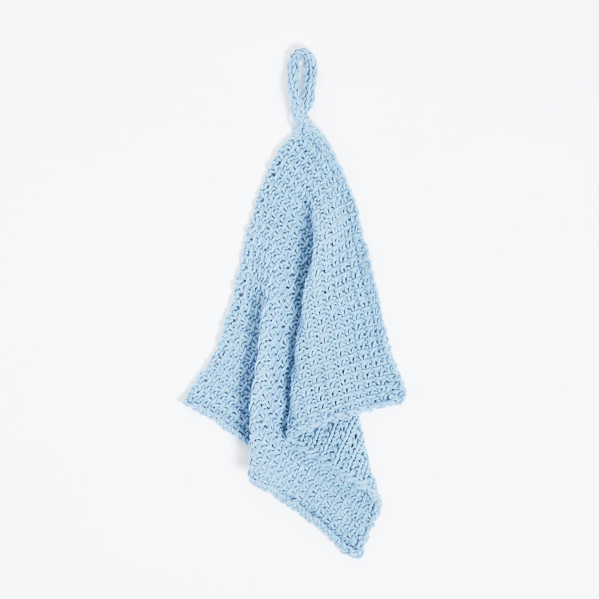 Free PDF Knitting Pattern: Simple Tea Towel