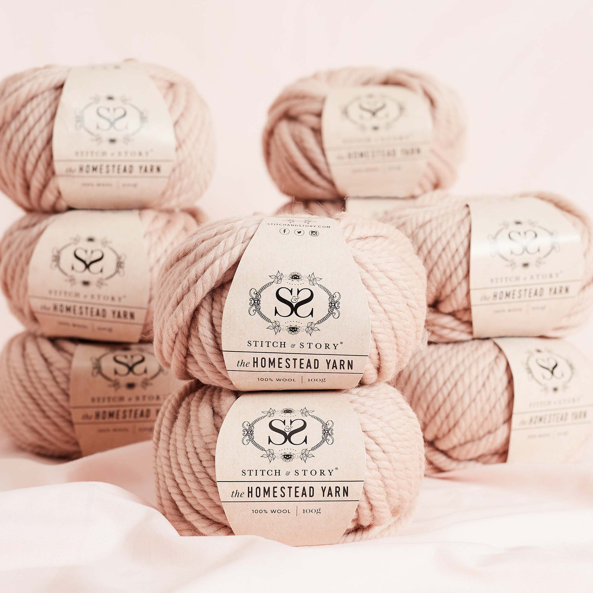 Buy One Get One Free! Pack of 10 - The Homestead Yarn