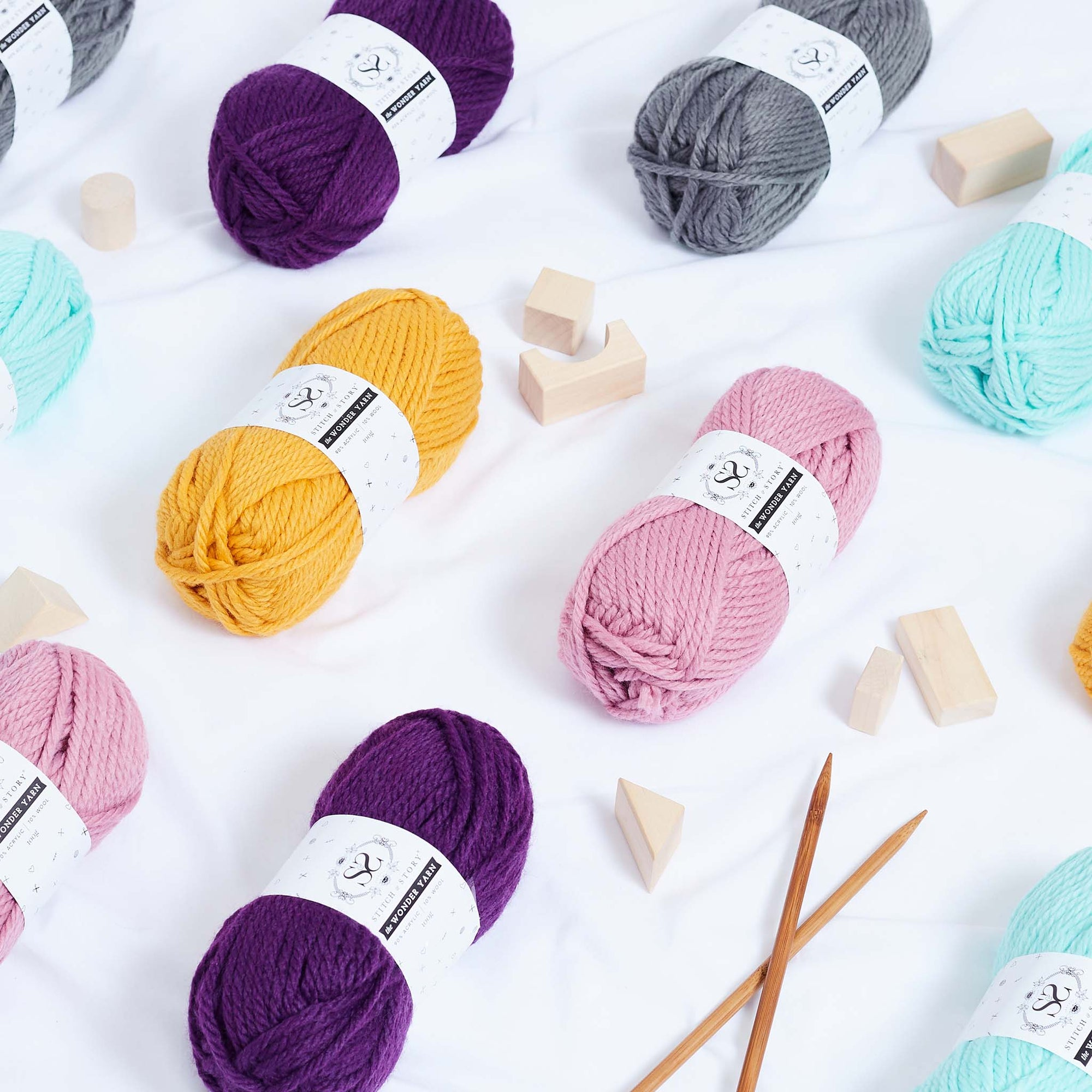 The Wonder Yarn 100g balls