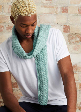 Watson Cable Scarf Knitting Kit