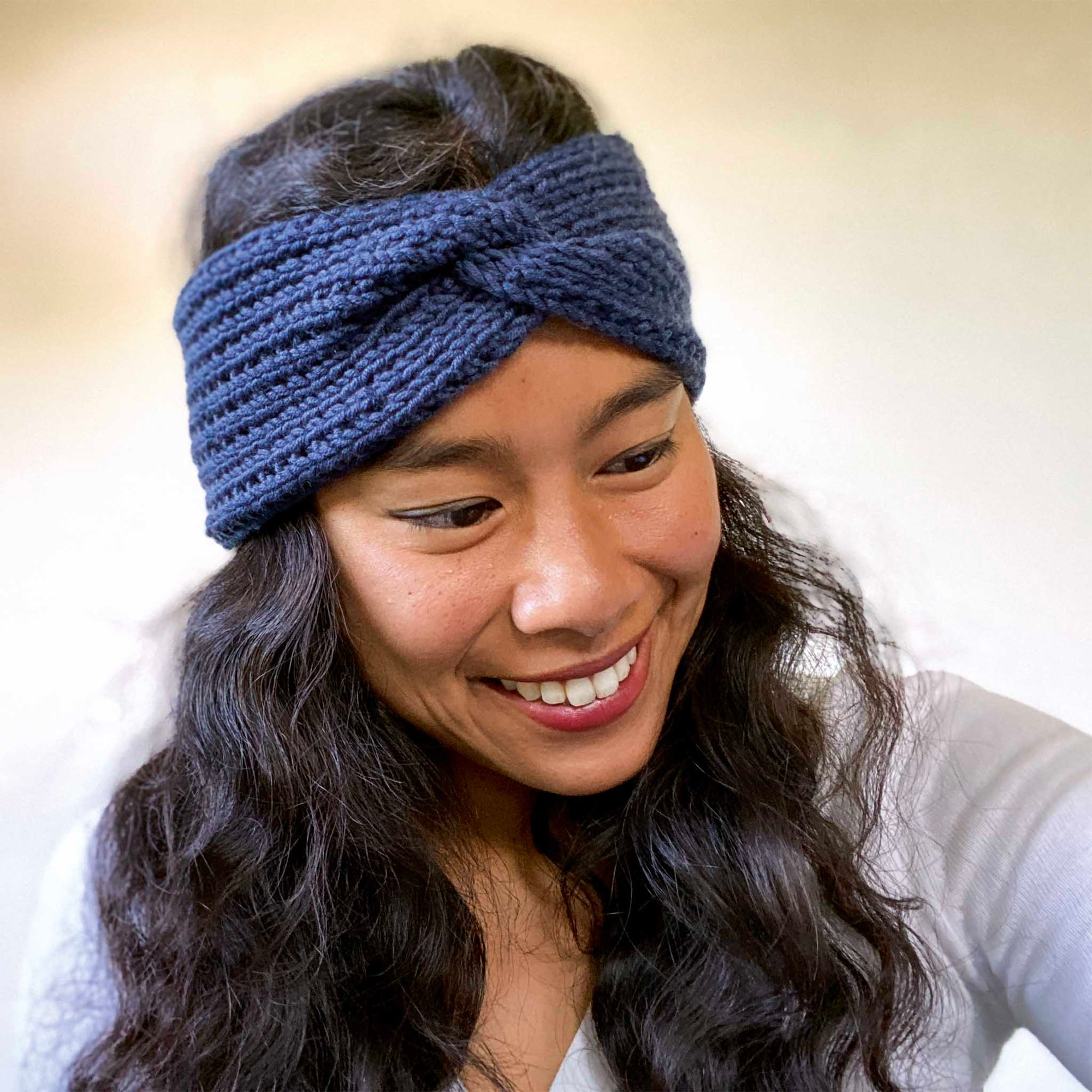 XOXO Headband Knitting Kit