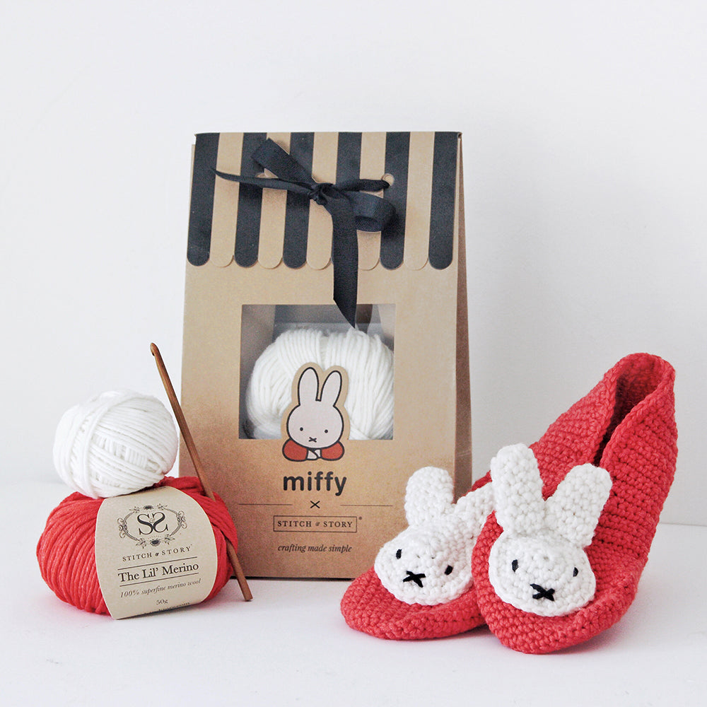 Birthday Miffy Amigurumi Crochet Kit - Stitch & Story | 1000x1000