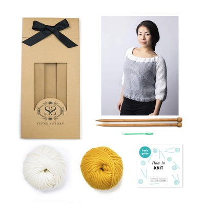 Stefano Sweater Knitting Kit