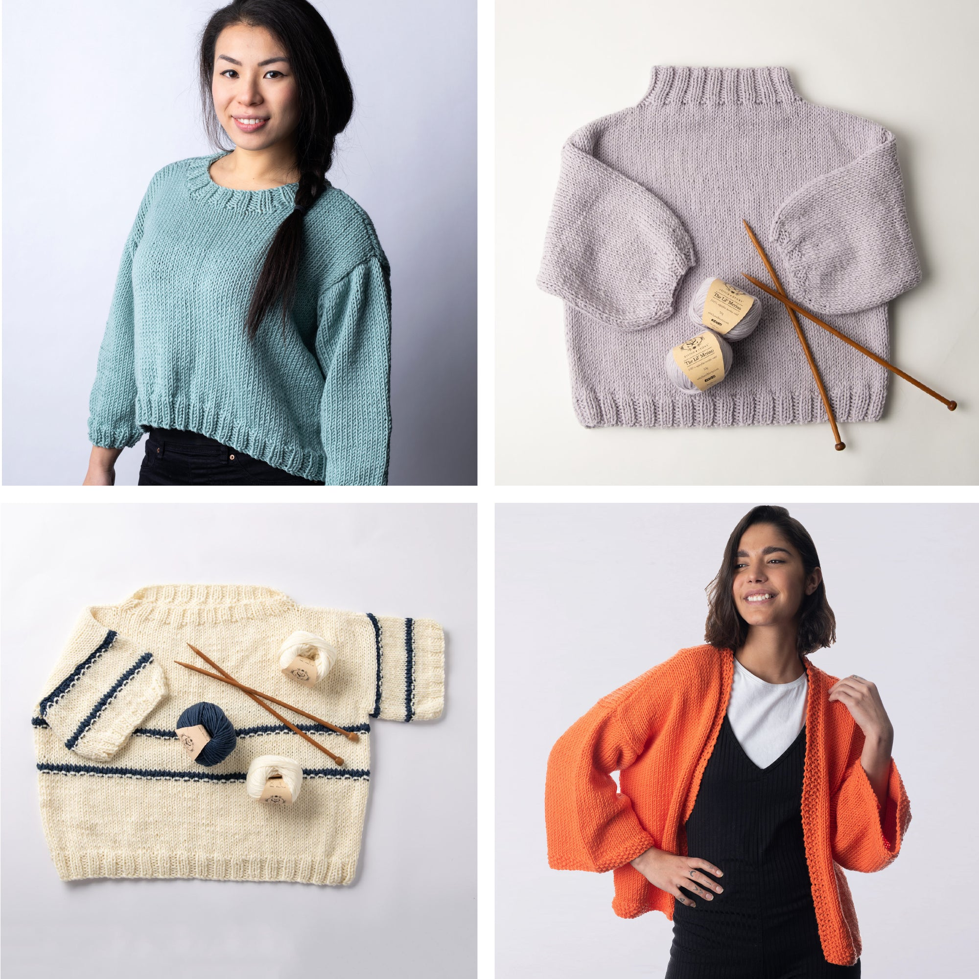 Sweater Stories - The Lil' Merino Pattern Collection