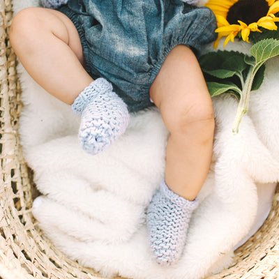 PDF Knitting Pattern: Mini Slumber Socks