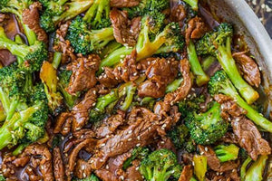 Bamboo Panda Beef with Broccoli