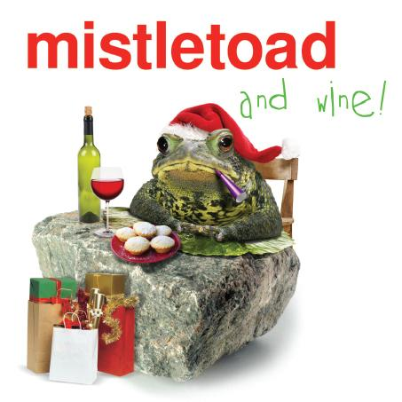 Misletoad ,General, Christmas Card,163x163