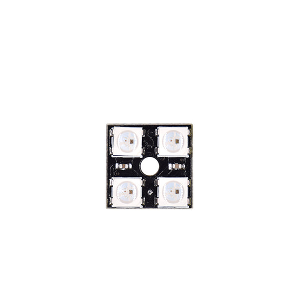 "2x2 Square Matrix WS2812B 5050 4 Way ""Smart RGB"" LEDs"