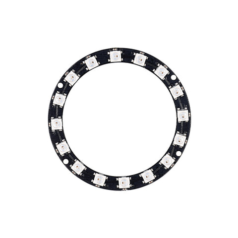 "WS2812B 5050 ""Smart RGB"" LED Ring 16 Pixels"