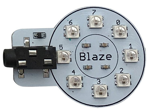 Blaze Gizmo for Playground - 8 FireLeds