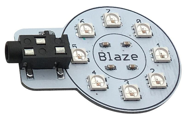 "Blaze Gizmo for Playground - 8 ""Smart RGB"" LEDs"