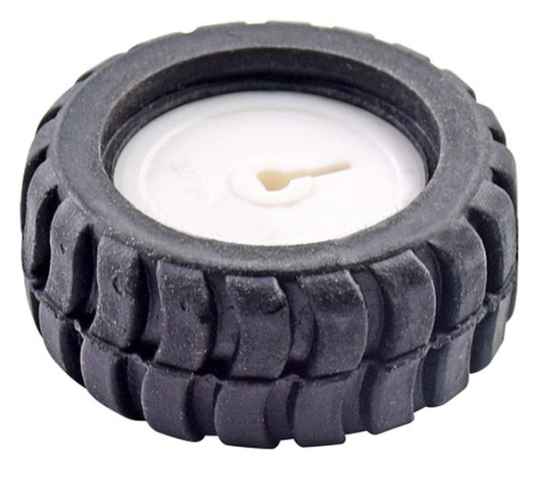 42mm Black Wheel for N20 Metal Gear Motors