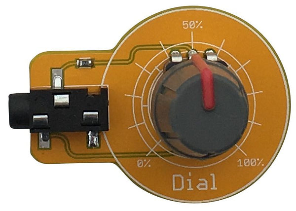 Dial Gizmo for Playground - Analog Input