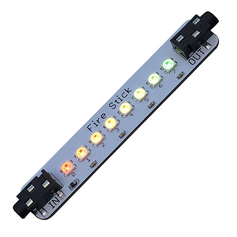 "Fire Stick Gizmo for Playground - 8 ""Smart RGB"" LEDs"