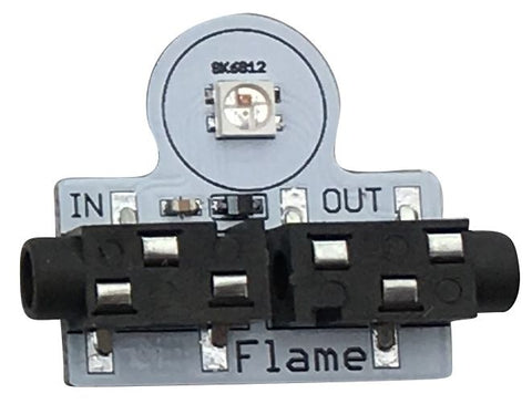 "Flame Gizmo for Playground - Single ""Smart RGB"" LED Pixel"