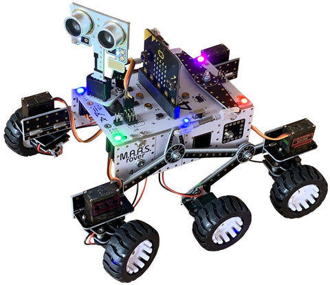 M.A.R.S. Rover Robot for Microbit or Pi Zero