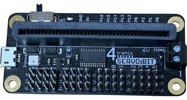 Servo:Bit 16-way Multi-Servo Controller for the BBC Micro:Bit