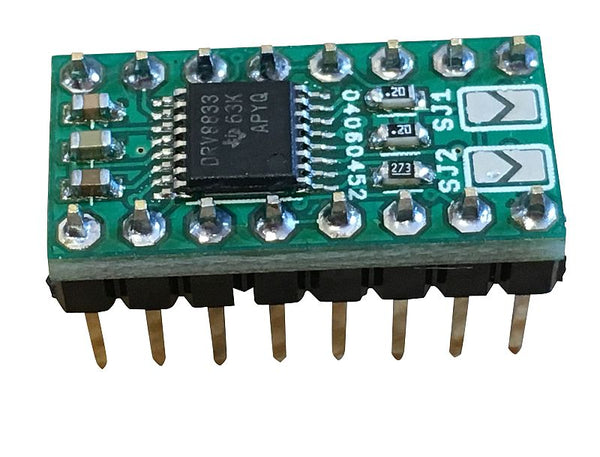 DRV8833 Breakout in DIP16 L293D Replacement Package