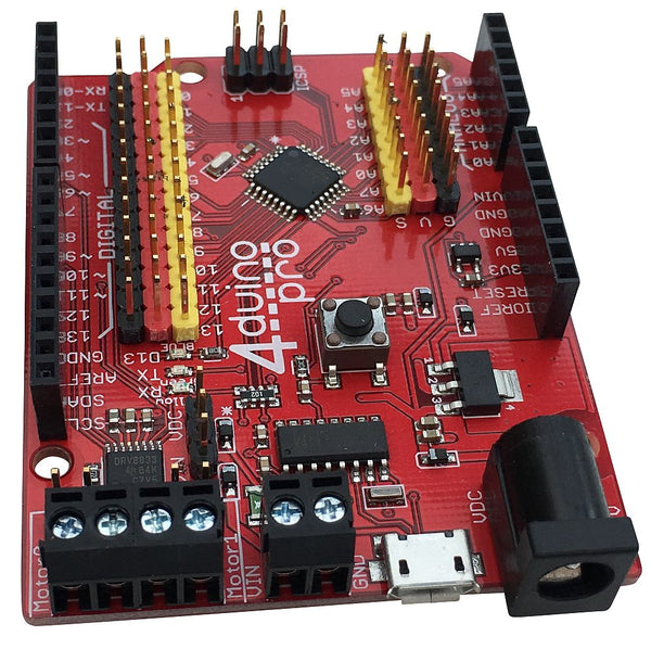 4duino Uno PRO Arduino Compatible with Motor Drivers