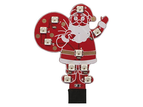 Neopixel Santa Claus for Music Box