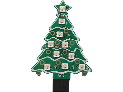 Neopixel Xmas Tree for Music Box