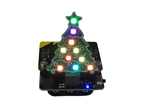 Music Box (Base:Bit) with Blinky Xmas Tree