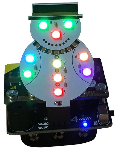 Mk1 Blinky Snowman for Music Box