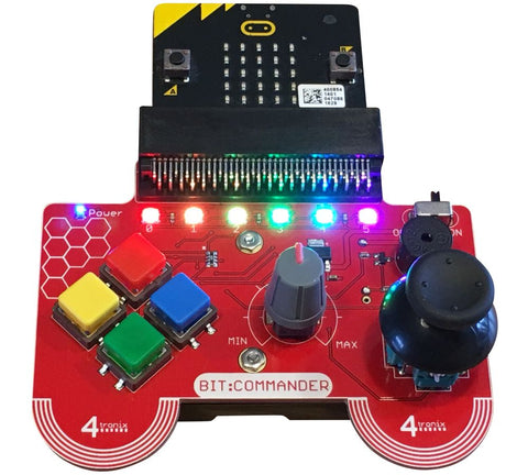 Bit:Commander Controller for BBC MicroBit - Damaged Gift Box