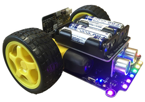 Robo:Bit Mk3 Buggy for the Microbit - Damaged Gift Box